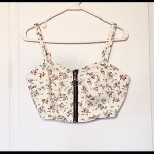 Wild Fable XS Floral Crop Top